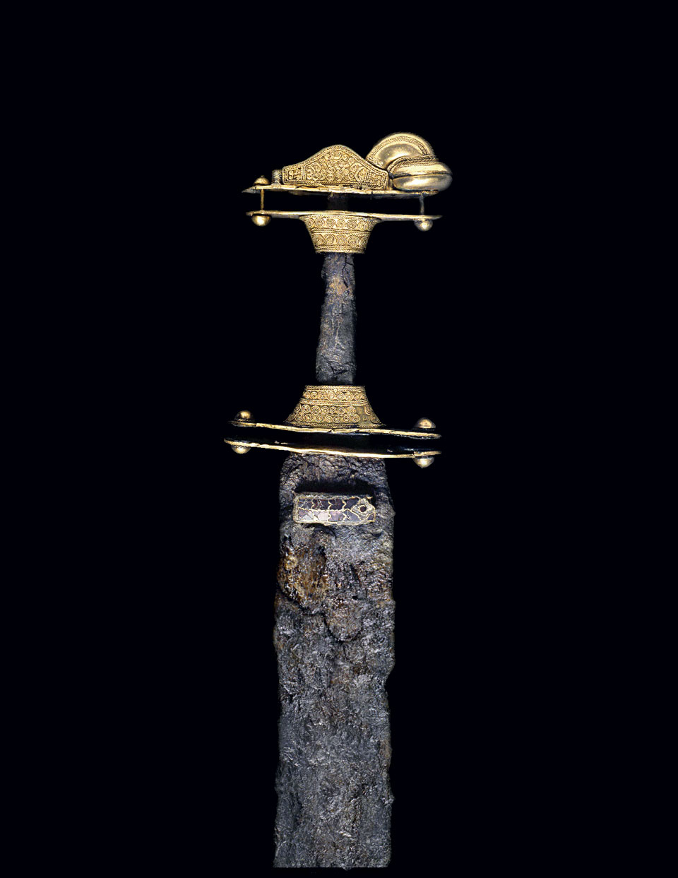 Sword from Nocera Umbra, end of the 6th century ©Museo dell 'Alto Medioevo