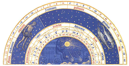 The Medieval Calendar in Books of Hours
