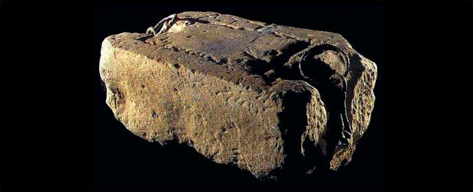 The Stone of Scone. Source: Wikipedia