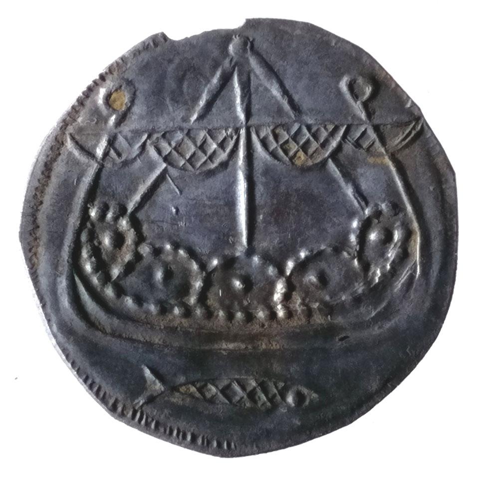 Coin, c. 800 - 820 found near Ribe 2018 © Sydvestjyske Museer