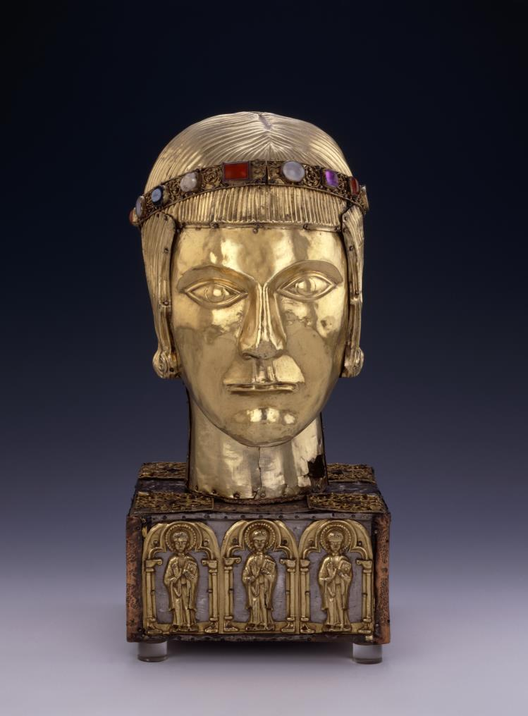 "Head reliquary of St Eustace c. 1180 -1200 belongs to the category of ""Speaking Reliquaries"", which informs us of their content. Head reliquary of St. Eustace © British Museum In […]"