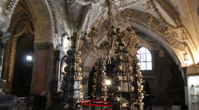 Restorative deboning at iconic Czech bone chapel