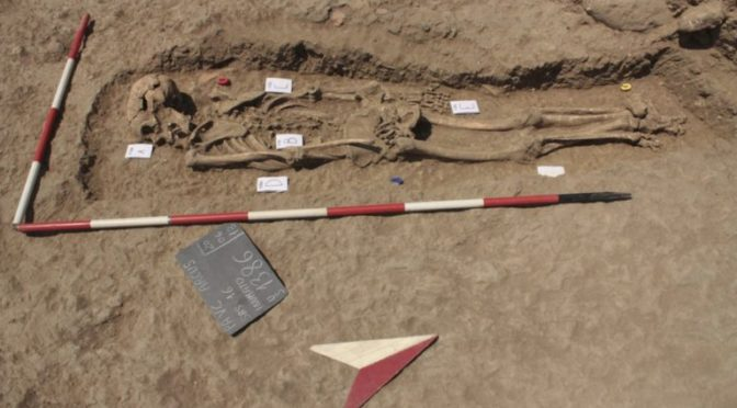 Unique deviant burial found in Sicily